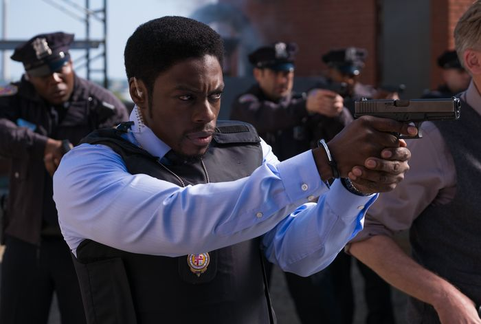 "Cle Bennett as ""Det. Keith"" in JIGSAW."